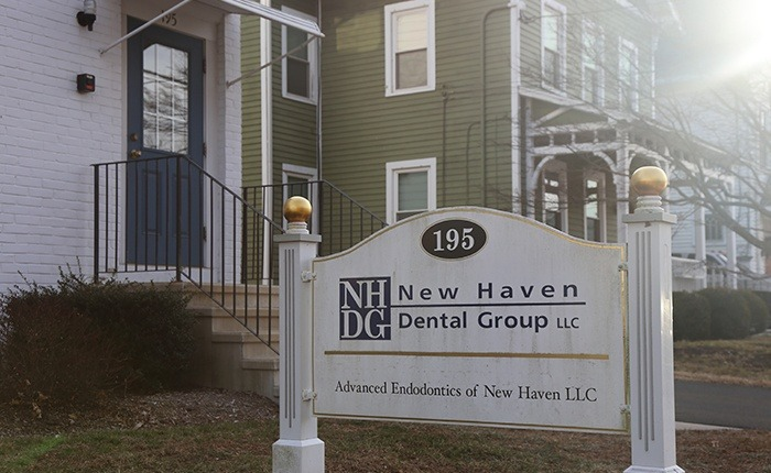 New Haven Dental Group sign
