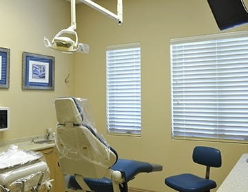 State-of-the-art dental office